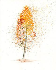 Autumn birch pollen allergy