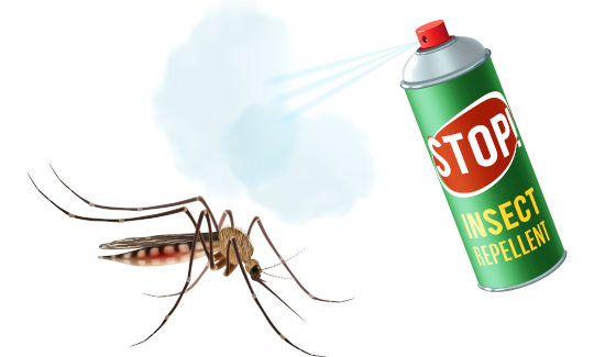 repel mosquito spray