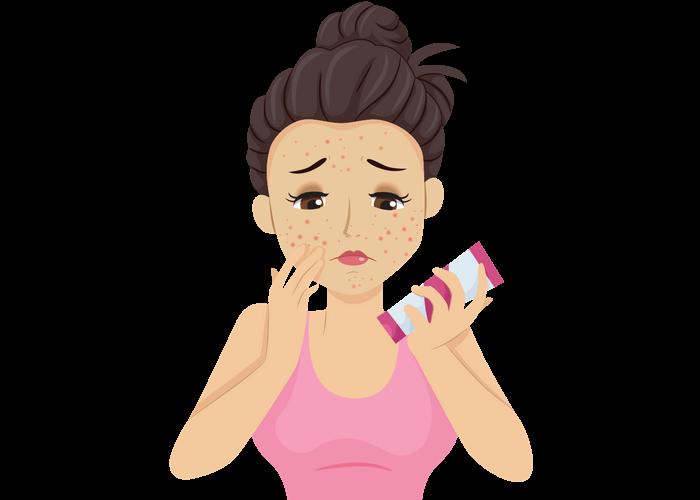 Symptoms of hay fever